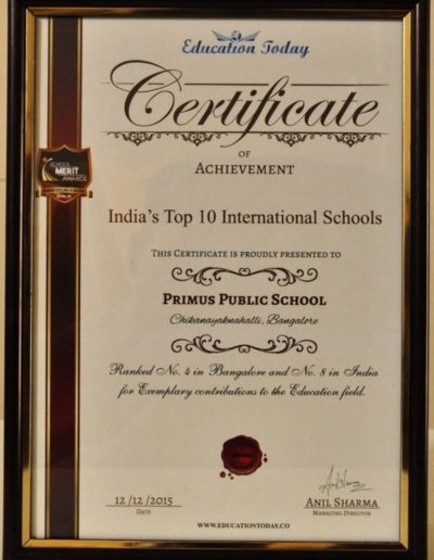 India's Top 10 International Schools